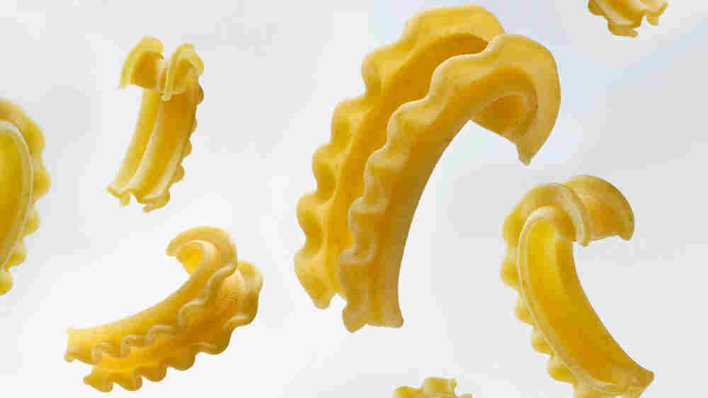 For Pasta Lovers Bored By Spaghetti, There's A New Short, Wavy, Sauce-Holding Shape