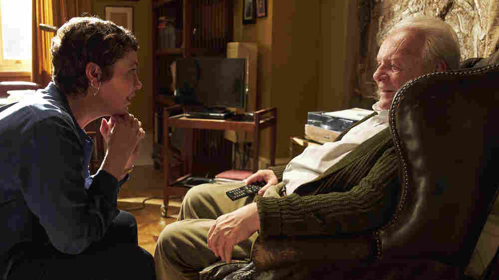 In 'The Father,' Anthony Hopkins' Mind Is Playing Tricks On Him — And On You