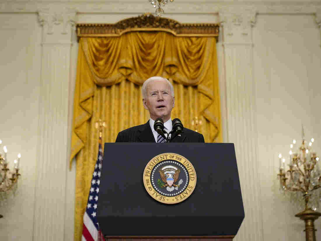 Biden: US to hit 100 million shot goal on Friday