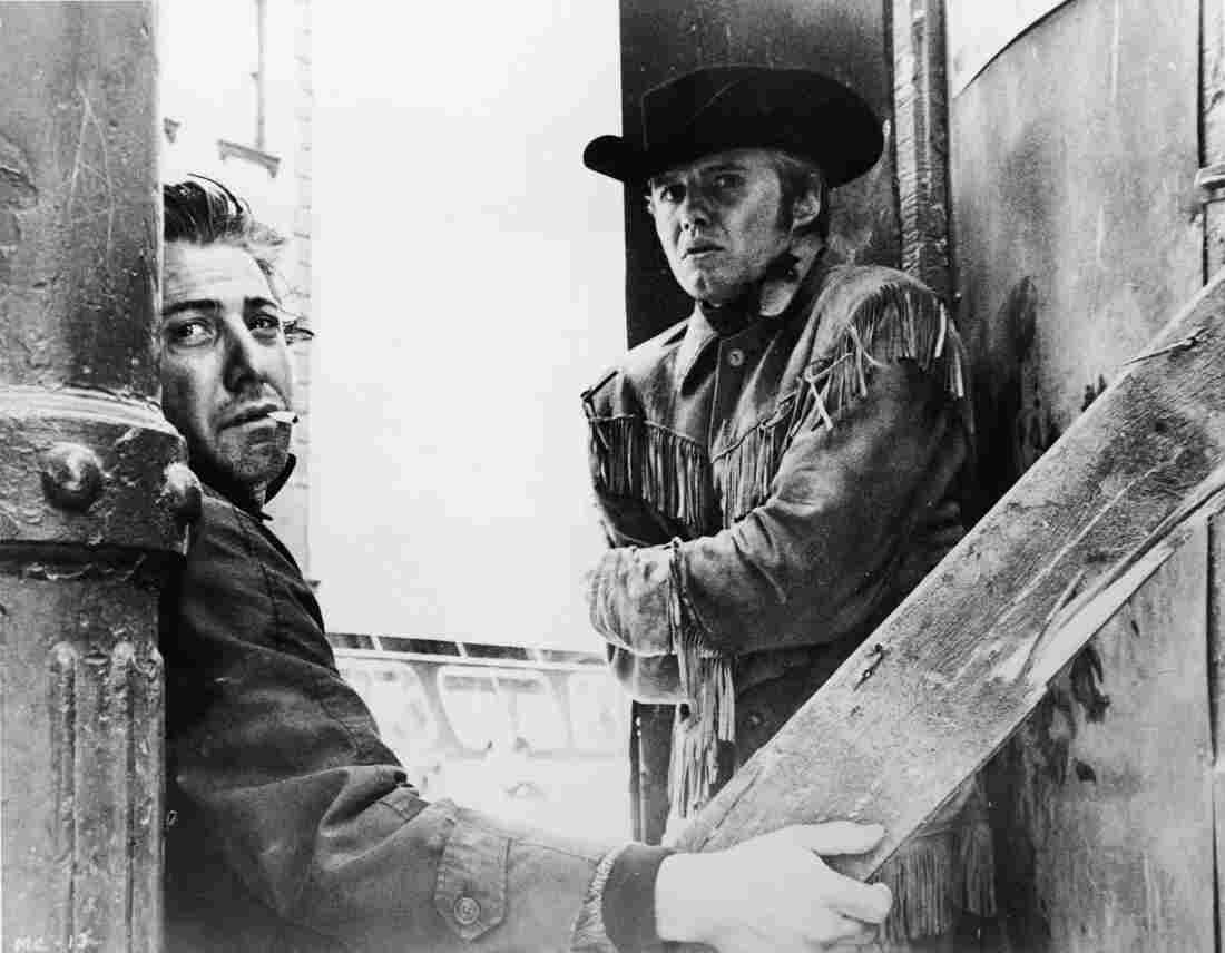 "Dustin Hoffman and Jon Voight appear in a still from ""Midnight Cowboy,"" directed by John Schlesinger, 1969."
