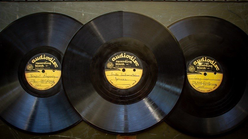 Grandson Restores His Grandfather's Band Recordings From WWII Front Lines : NPR
