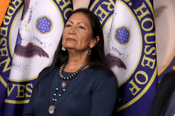 Deb Haaland, who made history this week by becoming the first indigenous interior secretary, promised to begin repairing a legacy of abuses committed by the federal government toward tribes.