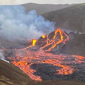 Volcano Erupts In Southwestern Iceland After Thousands Of Earthquakes