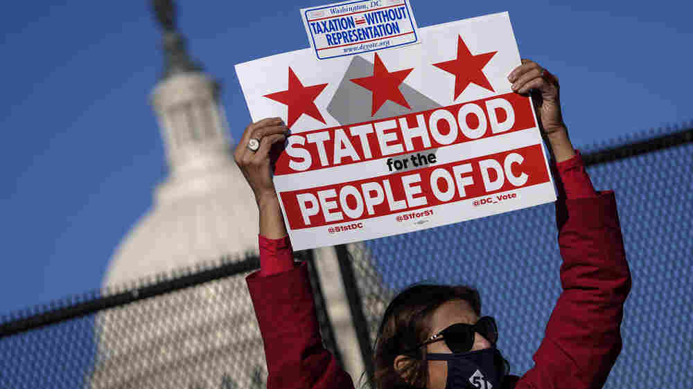 With Stronger Democratic Support, D.C. Statehood Fight Returns To Capitol Hill