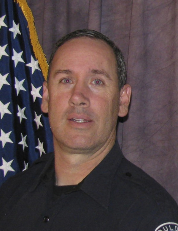 Boulder Police Officer Eric Talley, who was killed along with nine other people in a mass shooting at a grocery store in Boulder, Colo., Monday.