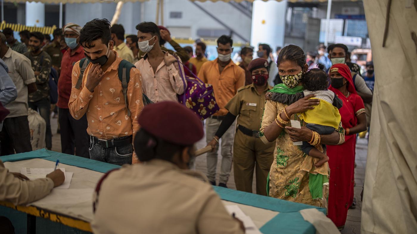 India Sees Spike In Confirmed Coronavirus Cases — And Variants :  Coronavirus Updates : NPR