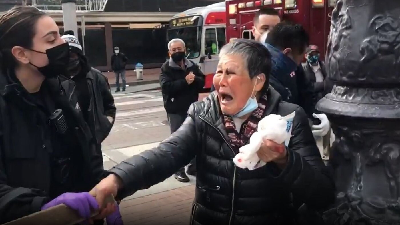 www.npr.org: Asian Grandmother Who Smacked Her Attacker With A Board Donates Nearly  Million