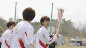 Torch Relay Kicks Off For Troubled Tokyo Olympic Games