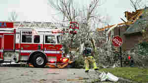 Tornadoes Strike Alabama, Georgia Leaving At Least 5 Dead