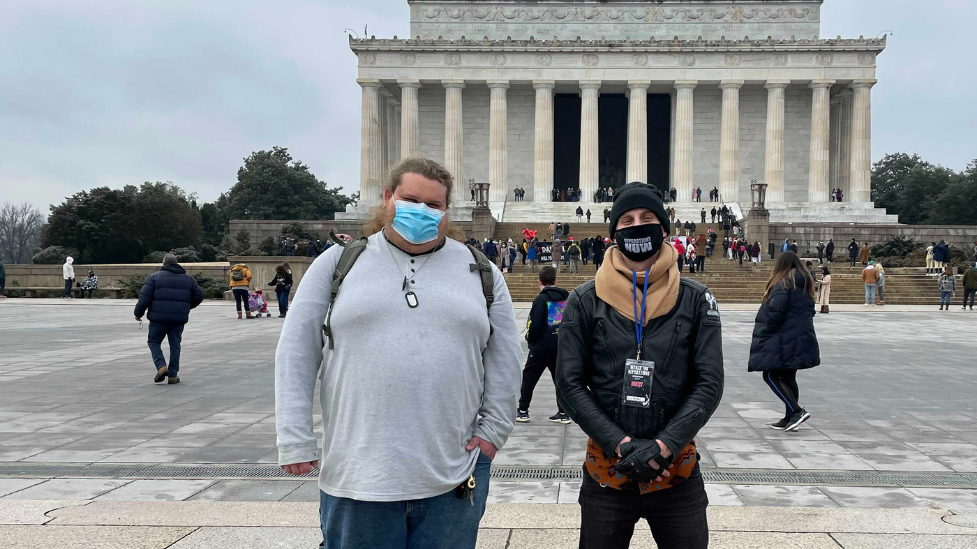 One's Antifa. One's In A Militia. How An Ancestry Match Led To An Unlikely Bond