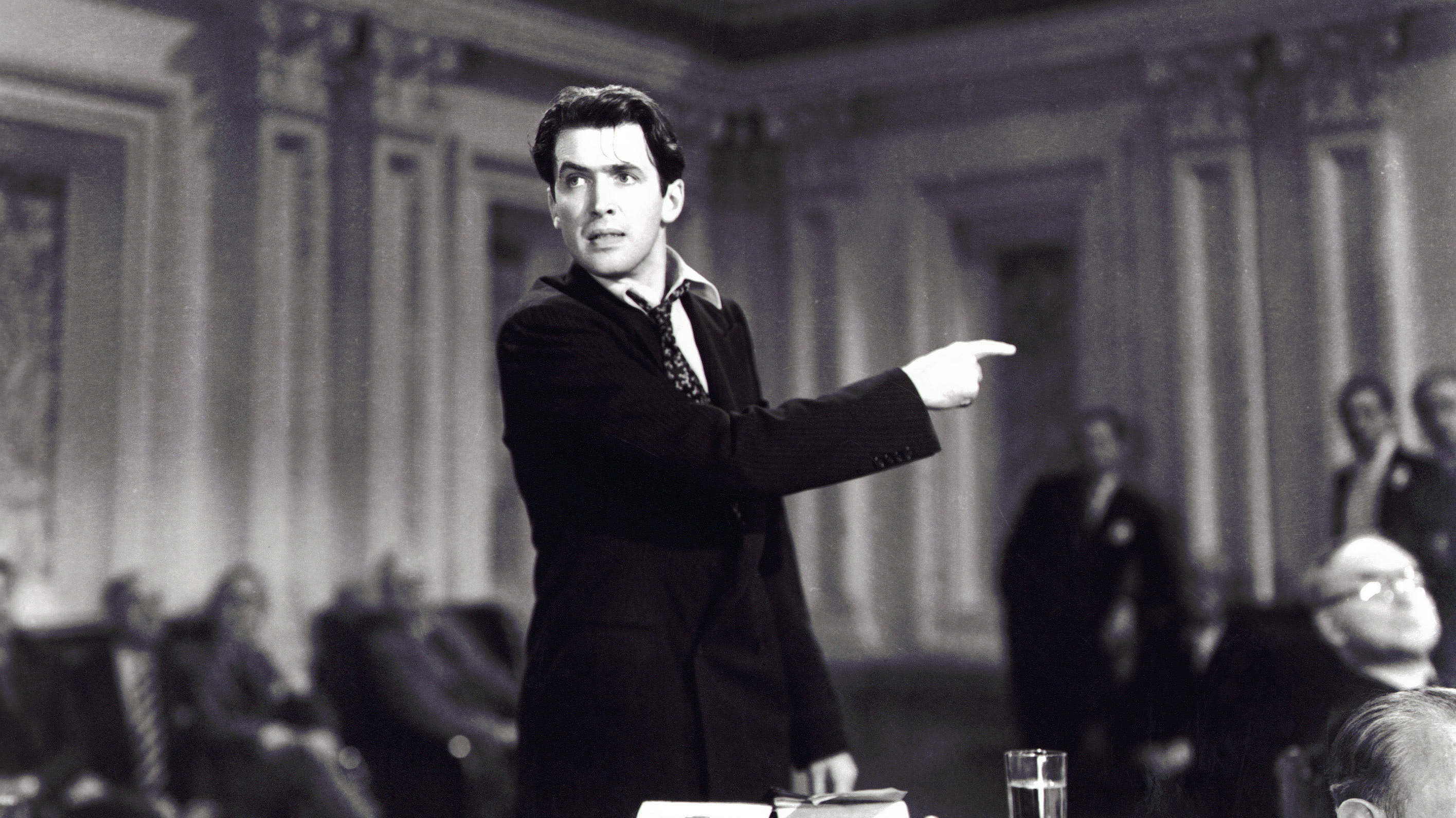 Jimmy Stewart's 1939 performance in Mr. Smith Goes To Washington helped form the popular perception of a Senate filibuster, with a lawmaker talking for hours on end. It hasn't been like that for decades, but President Biden supports returning to that style.