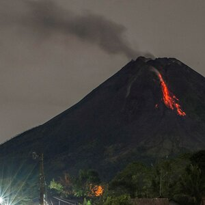 Indonesian 'Mountain Of Fire' Erupts Again