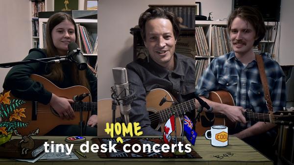 Kacy & Clayton And Marlon Williams: Tiny Desk (Home) Concert
