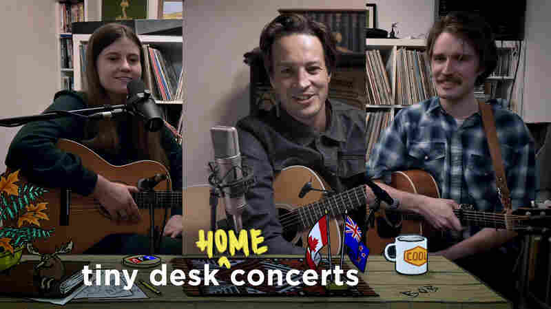 Kacy & Clayton And Marlon Williams: Tiny Desk (Home) Concert
