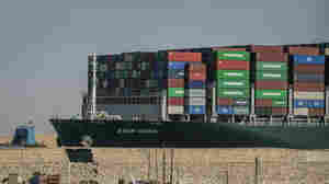 'She's Free': Giant Container Ship Blocking Suez Canal Underway After Days