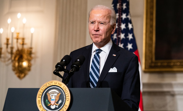 President Biden campaigned on restoring bipartisanship and unity but has increasingly made it clear that he views that benchmark via the broader popularity of his proposals, not whether any Republican lawmakers actually vote for them.