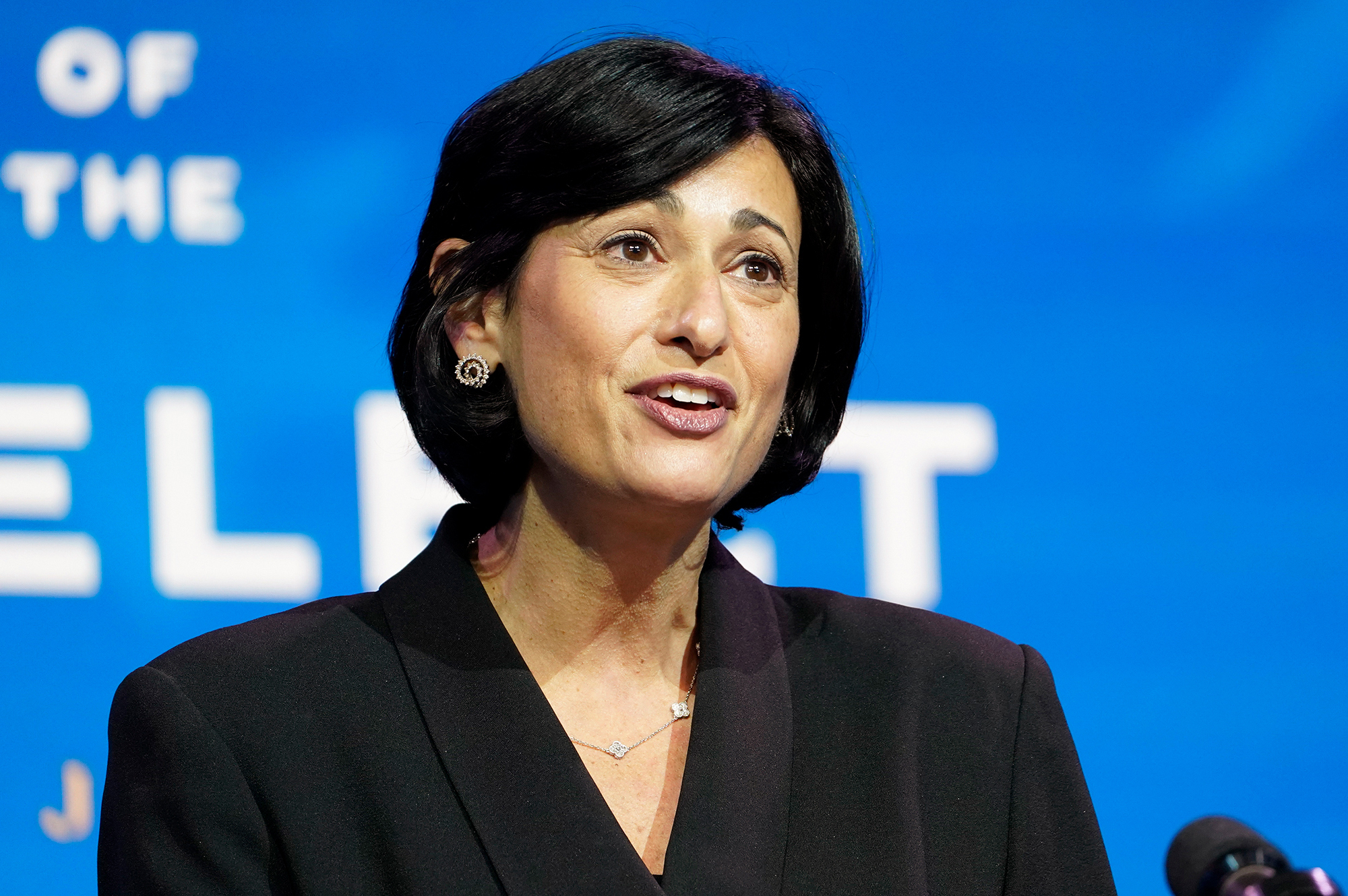 Dr. Rochelle Walensky took over as director of the CDC on Jan. 20, 2021.