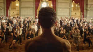 An Immigrant Becomes A Human Canvas In This Sly Film About Art And Freedom