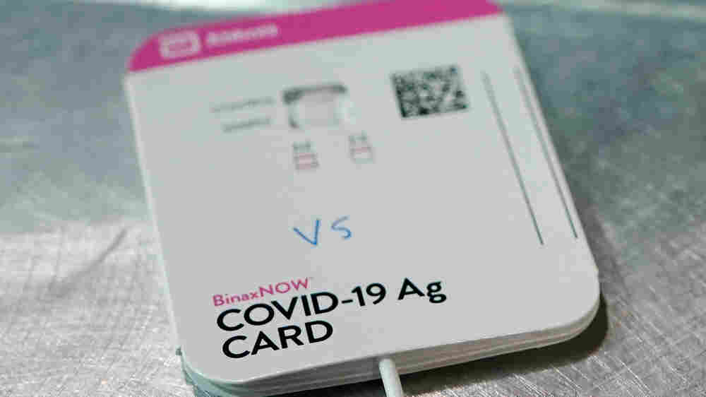 FDA Authorizes 2 Rapid, At-Home Coronavirus Tests