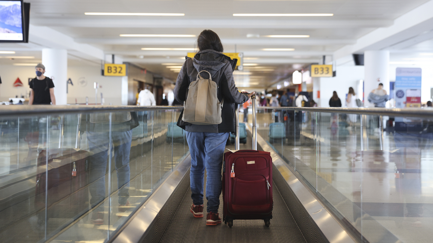 CDC Releases Air Travel Guidance For Fully Vaccinated People : Coronav... image