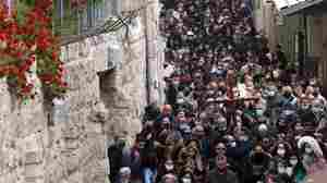 Jerusalem's Old City Comes Alive With Religious Festivals As Vaccination Rate Rises