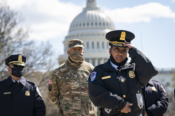 police at Capitol