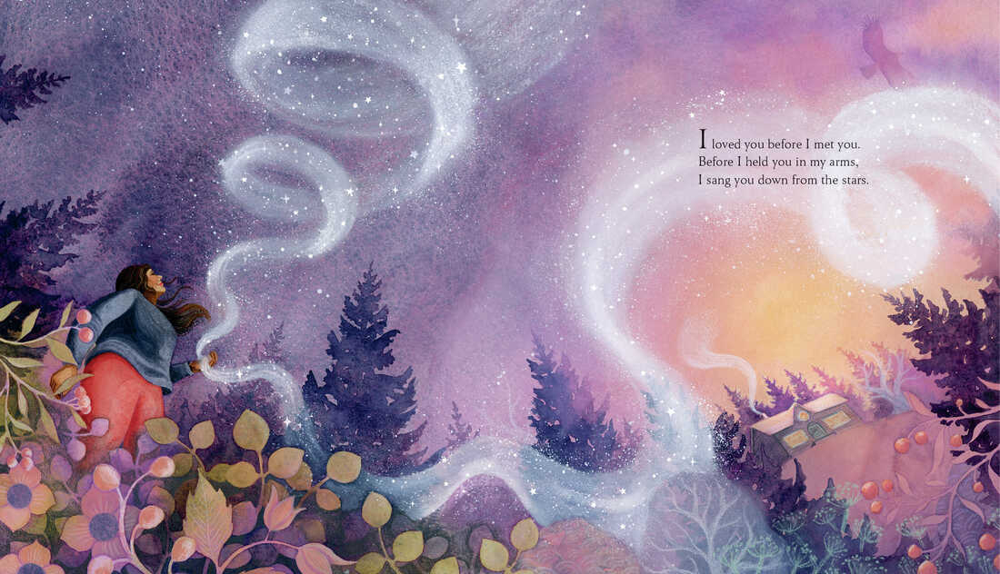 From I Sang You Down from the Stars, by Tasha Spillett-Sumner and Michaela Goade.