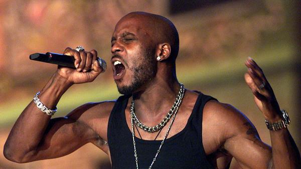 DMX performing at The Source Hip Hop awards in 2001. The rapper died today at age 50.