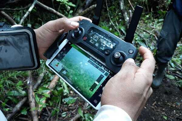 Doviaza uses drone video to map previously unrecognized indigenous lands within Panama.