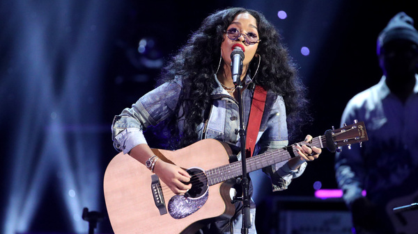 2021 is shaping up to be a big year for singer-songwriter H.E.R., who, after winning two Grammy awards in one night, was nominated for an Oscar the morning after.