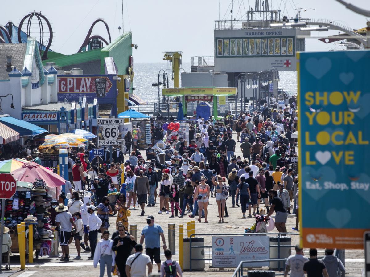 California Reopening Tentatively Set For June 15, With Caveats : Coronavirus Updates : NPR