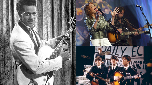 Chuck Berry, Rosanne Cash and The Beatles all performed memorable songs about rock