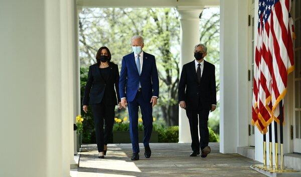 Harris, Biden and Garland