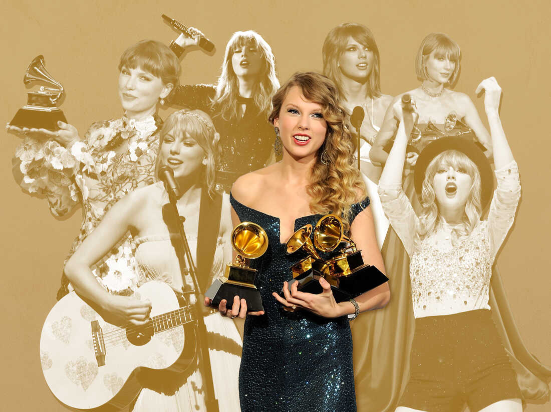 Taylor Swift through the years.