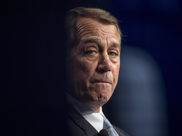 John Boehner, pictured in 2016, was speaker of the House during the Obama presidency. He says he sometimes went along with things he personally opposed because it was what members of his party wanted.