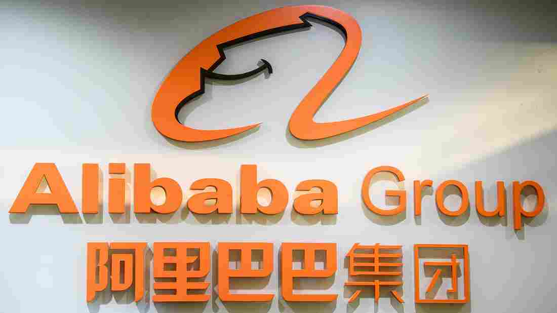 The offices of Alibaba Group in Hong Kong, taken in October 2020.