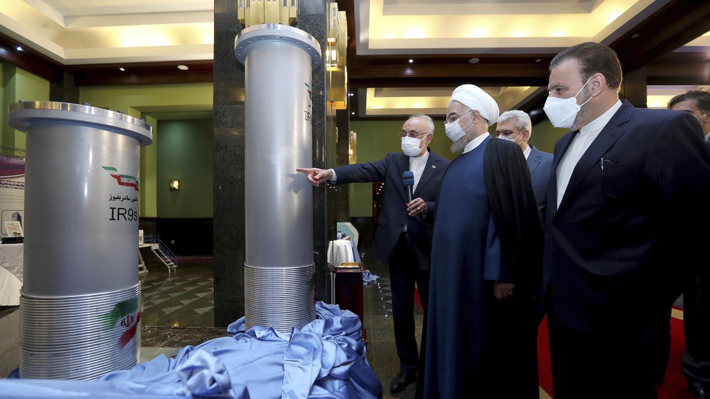 'Suspicious' Blackout Strikes Iran's Natanz Nuclear Site – NPR