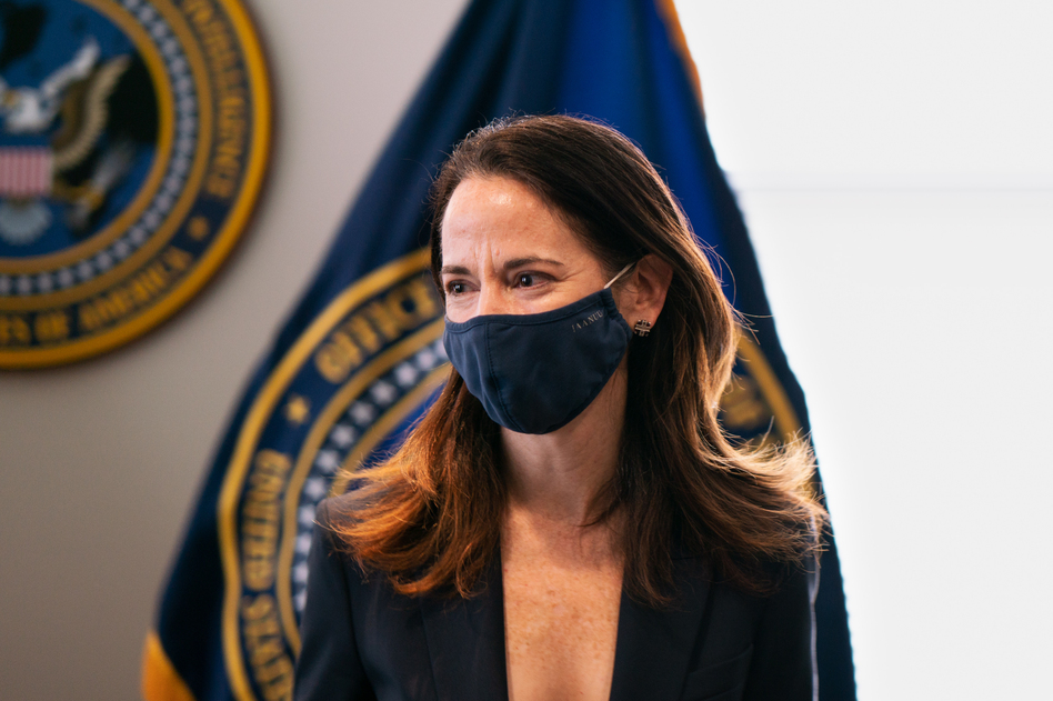 Avril Haines, the director of national intelligence, oversaw the report on leading threats to the U.S., which cites four countries — China, Russia, Iran and North Korea. Haines is set to testify about the report to Congress on Wednesday and Thursday. (Claire Harbage/NPR)