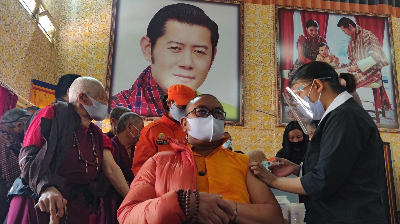 Bhutan Vaccinates 93% Of Eligible Adults In Under 2 Weeks : Coronavirus Updates