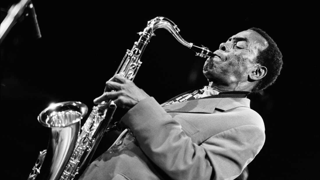 Sonny Simmons performs on May 30th 1997 at the Bimhuis in Amsterdam, Netherlands.