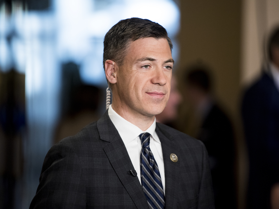 Rep. Jim Banks, R-Ind., here in 2017, is pushing his party to focus on working-class voters as a way to win back the House of Representatives in the 2022 midterms and the White House in 2024. (Bill Clark/CQ Roll Call via Getty Images)