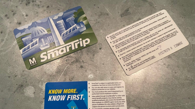 If You Have A SmarTrip Card From Before 2012, You'll Need To Replace It Soon