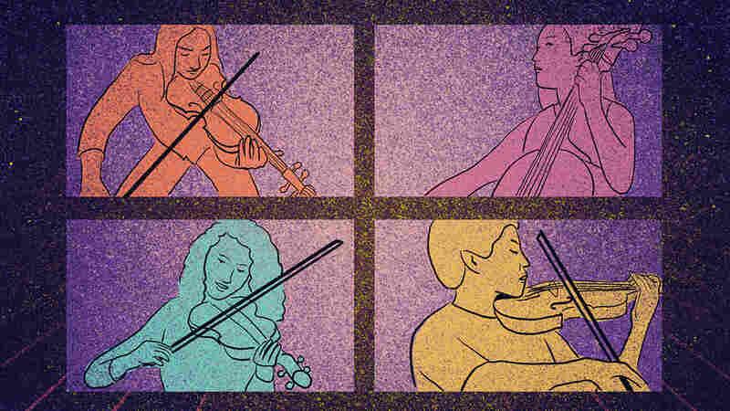 COMIC: For Music Teacher, Virtual School Meant Teaching Kids 'To Hear The Way I Hear'