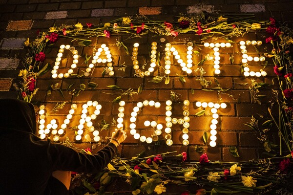 In Seattle, protesters laid flowers and held a candlelight vigil.