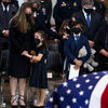 Officer Billy Evans is honored at the U.S. Capitol, where he served and was killed