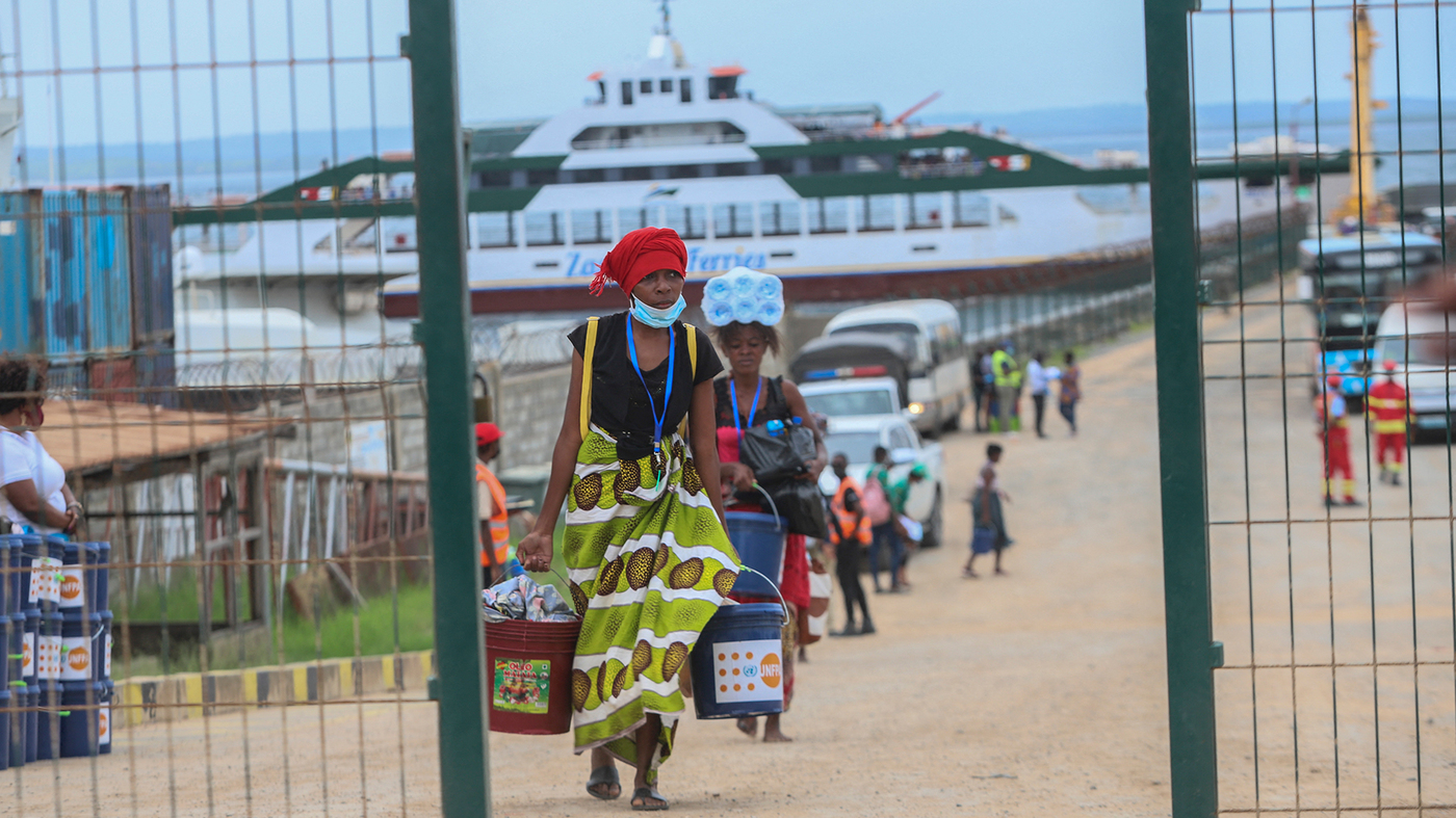 A Surprising Kind Of First Aid For Mozambicans Fleeing Violence