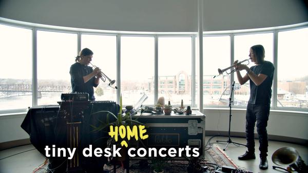 CARM performs a Tiny Desk (home) concert.