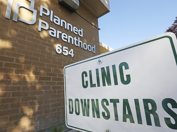 """A Planned Parenthood of Utah facility in Salt Lake City. The Biden administration is moving to reverse a Trump-era family planning policy that critics describe as a domestic """"gag rule"""" for reproductive healthcare providers."""