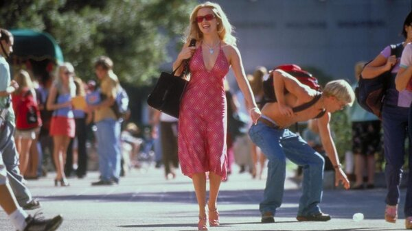 Reese Witherspoon stars as Elle Woods in Legally Blonde.