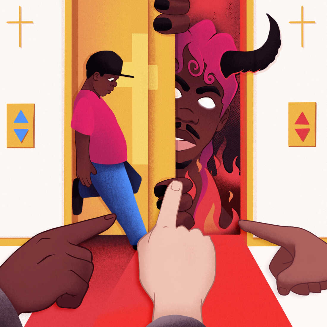 """Writer Ashon Crawley says Lil Nas X's """"Montero (Call Me By Your Name)"""" touches on a lasting truth about young queer people's understanding of hell and the devil."""